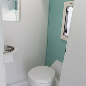 ALBI VERONA - AMBULATORIO MOBILE - BAGNO CON WC E LAVANDINO